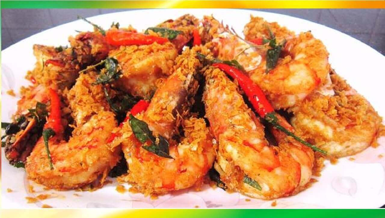 Instant Fried Prawns