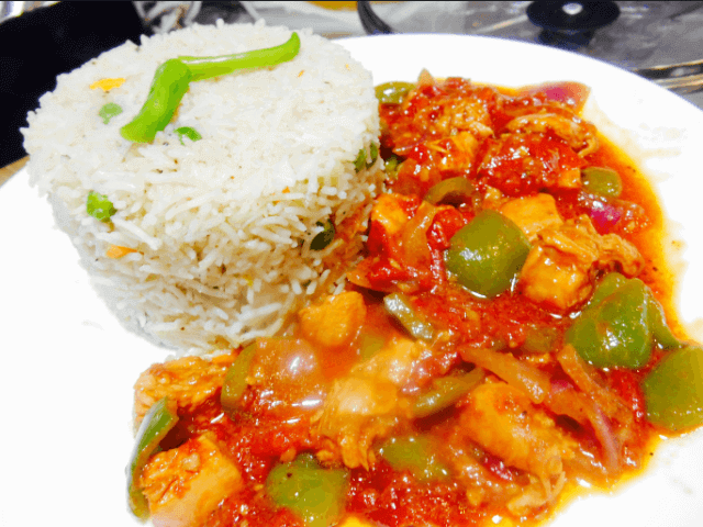 Shashlik Rice