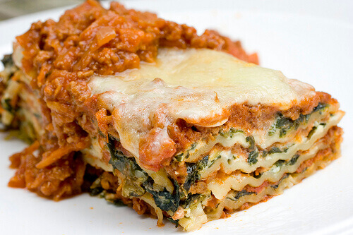 Spinach Mince Lasagna Recipe