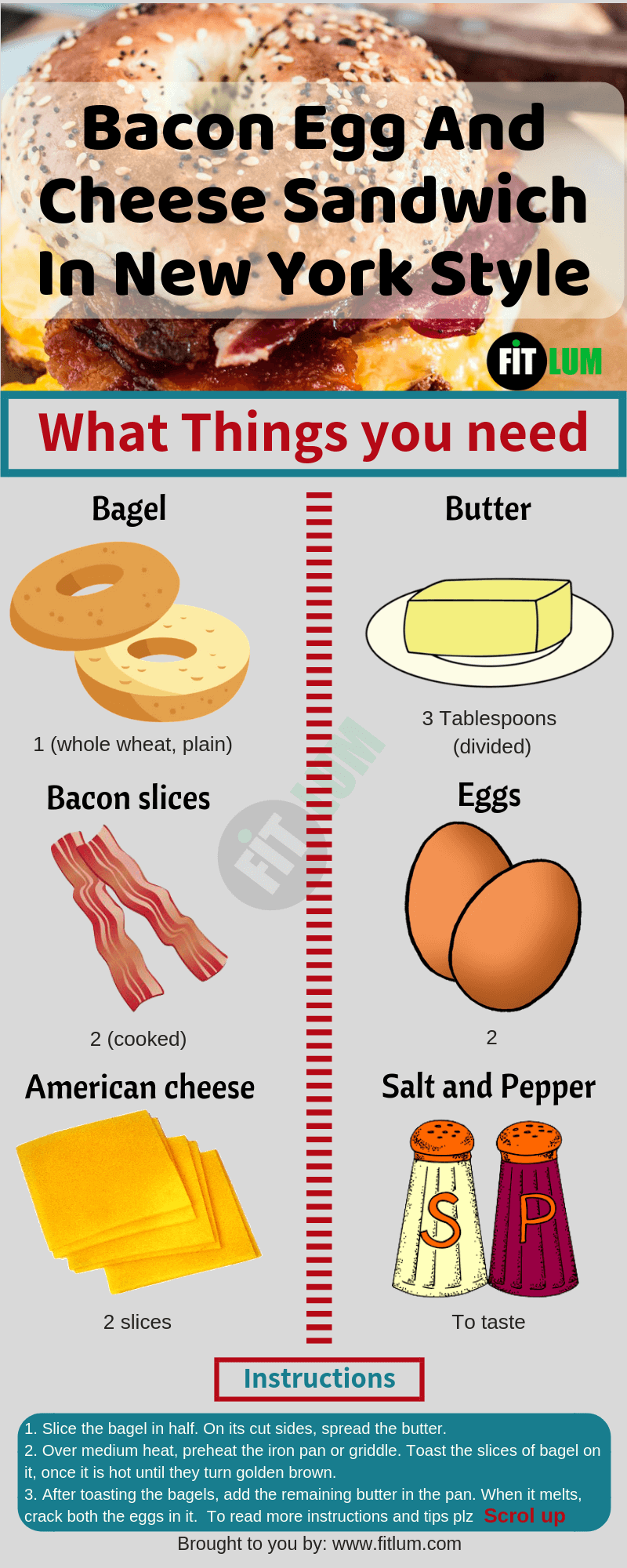 Keto Bacon Wrapped Cream Cheese Stuffed Chicken Breast Infographic