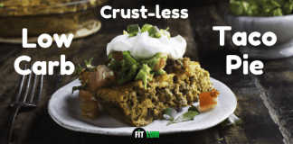 Low Carb Crust-less Taco Pie Recipe