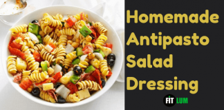 Homemade Antipasto Salad Dressing Recipe