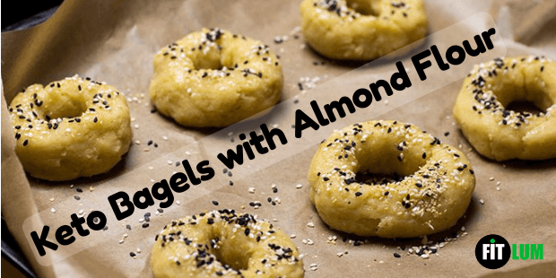Keto Bagels with Almond Flour Recipe