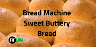 Bread Machine Sweet Buttery Bread Recipe