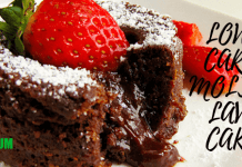 Low-carb Molten Lava Cake Recipe